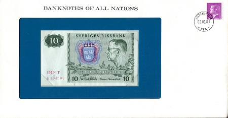 10 UNC (looks UNC) envelope has wear