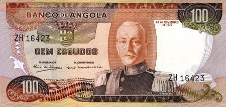 100 Escudos  aUNC/XF (see scan) Banknote