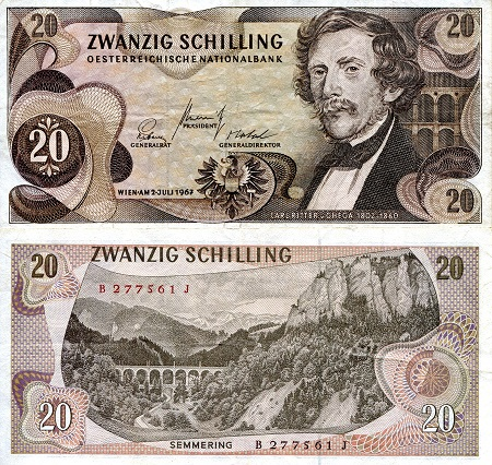 20  Shillings  VF (see large scan) Banknote