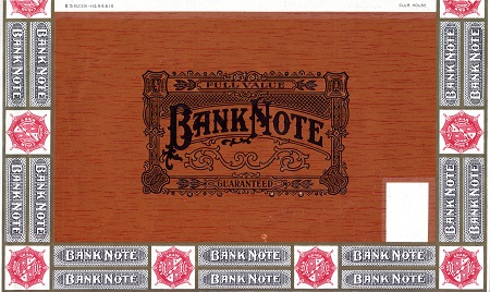 Cigar Box Label (Banknote Brand?)   Banknote