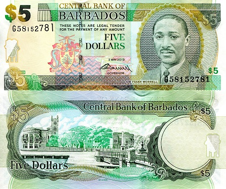 $2 TO $5 SOLOMON ISLANDS 8 PIECE BANKNOTE VARIETY SET
