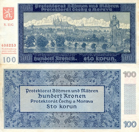100 Kronen  XF (see large scan) Banknote