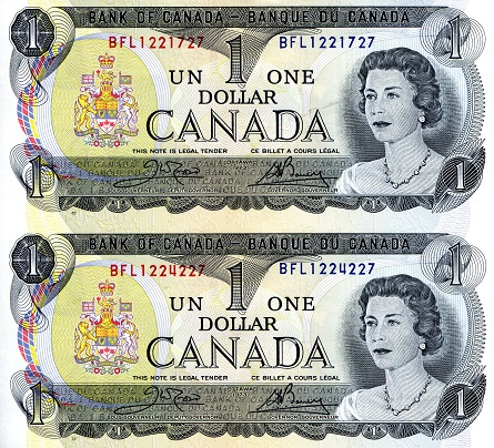 1 Dollar  aUNC (See scan) Banknote