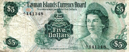 5 Dollar  VG (see scan) Banknote