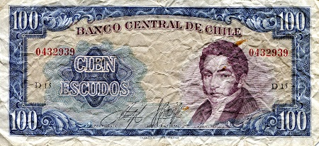 50 Escudos  F/VG (see scan) Banknote