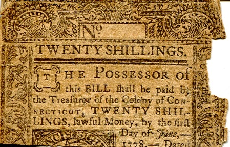 20 Shilling  Poor (See scan) Banknote