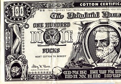 100 Dixie Bucks  Not Graded (see other info.) Banknote
