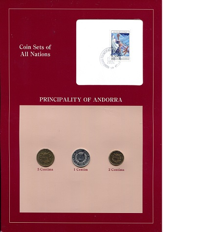 Coin Sets of All Nations Cook Islands 1983 UNC $1 50,20,10,5,2,1 cents