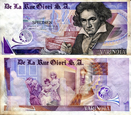 1 Pass  VF (see scan) Banknote
