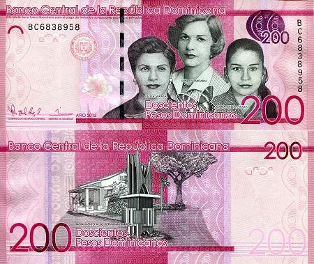 DOMINICAN REPUBLIC 50 Pesos Dominicanos 2011 Pick 183a UNC