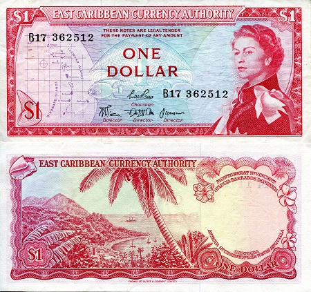 1 Dollar  XF/VF (see large scan) Banknote
