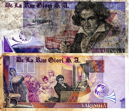 1 Pass  VG-G (see scan) Banknote