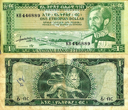 1 Dollar  F/VG (see large scan) Banknote