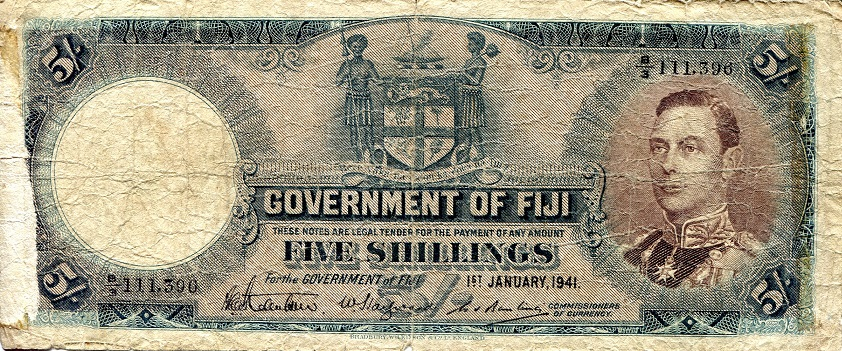 5 Shillings  G Banknote