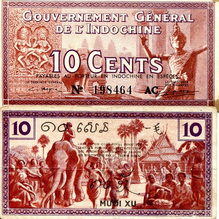 10 Cents  VF/F (see large scan) Banknote