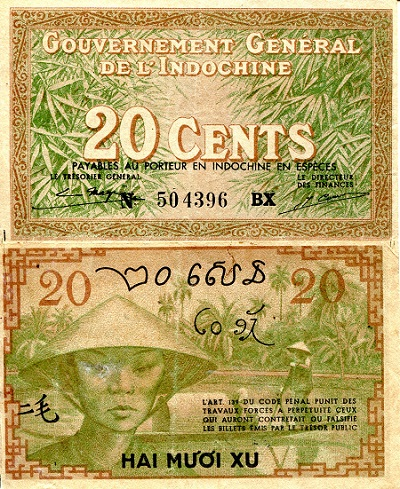 20 Cents  VF Banknote