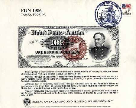 100 Dollars  Not Graded Banknote