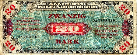 20 Marks  VG Banknote