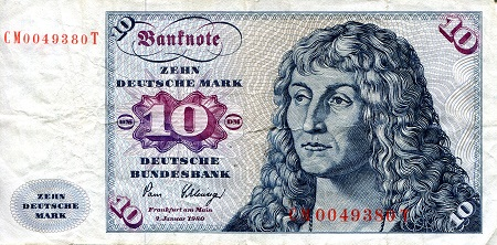 10 Marks  VG (see scan) Banknote