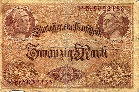 20 Marks  G Banknote