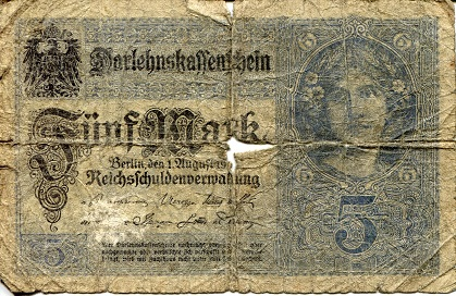 5 Marks  Poor Banknote