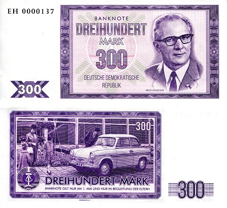 300 Marks  UNC Banknote