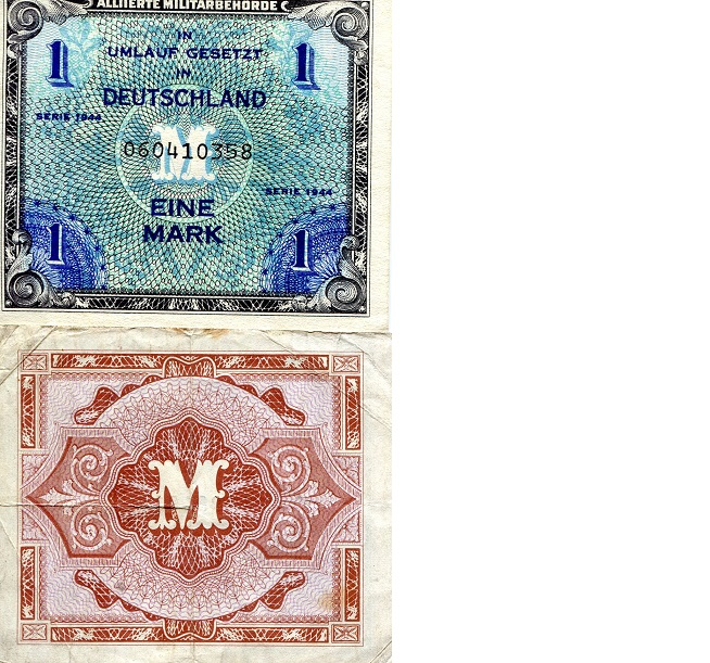 1 Marks  F Banknote