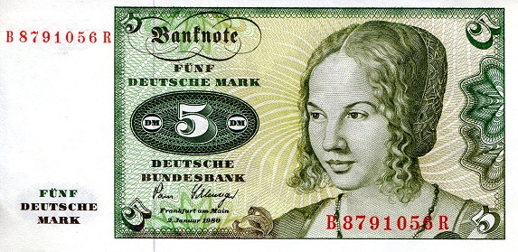5 Marks  aUNC Banknote