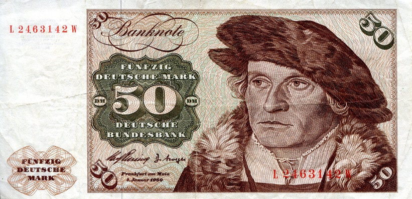 50 Marks  VF/F (see scan) Banknote