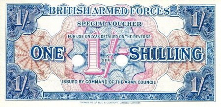 1 Shilling  UNC Banknote