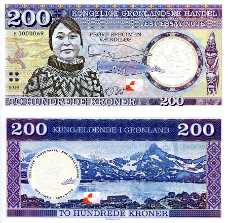 Image result for greenland currency notes