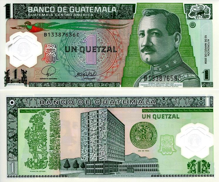 Roberts World Money Store And More Guatemala Quetzal And Guaranies