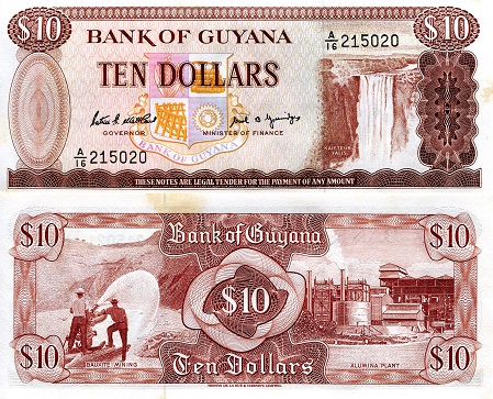 GUYANA 1,000 1000 Dollars Sign 14 2006 P-38b UNC Uncirculated