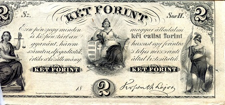 2 Forint  VG (see scan) Banknote
