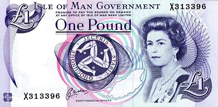 1 Pound  aUNC (see scan) Banknote