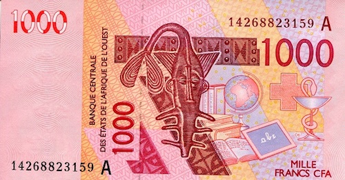 1,000 UNC (cutting error note)