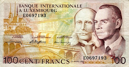 100 Francs  VF (see large scan) Banknote