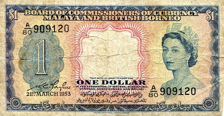 1 Dollar   VG- (see large scan) Banknote