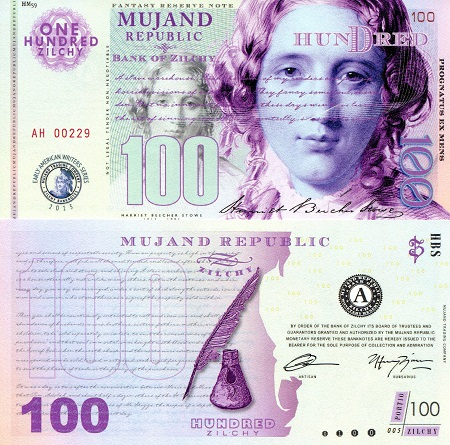 100 Zilchy  UNC Banknote