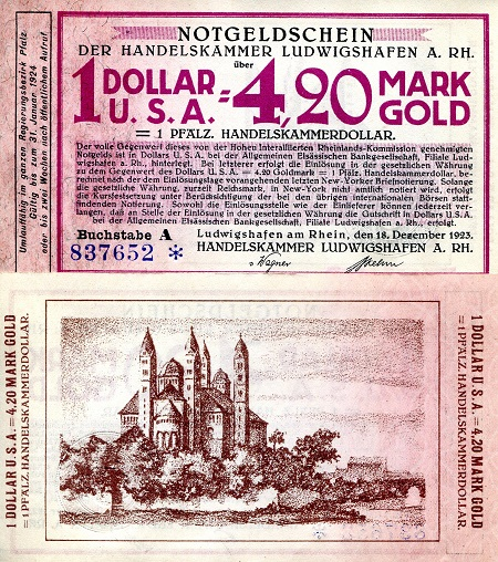 4.20 Marks  XF Banknote