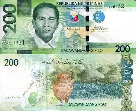 PHILIPPINES 50 Piso 2014 Pick 207d UNC