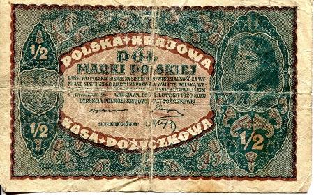 POLAND 5,000 5000 Marek 1920 P-31 XF