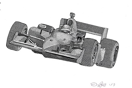 Indy Race Car