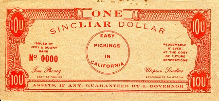 Sinclair Dollar   Banknote