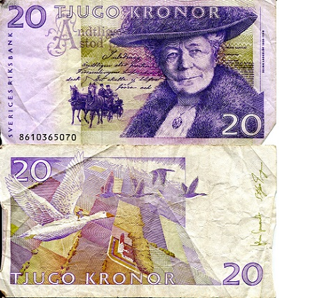 20 Kronor  VG Banknote