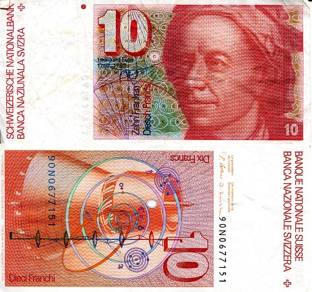 10 Francs  VF (see large scan) Banknote