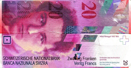 20 Francs  VF (see large scan) Banknote