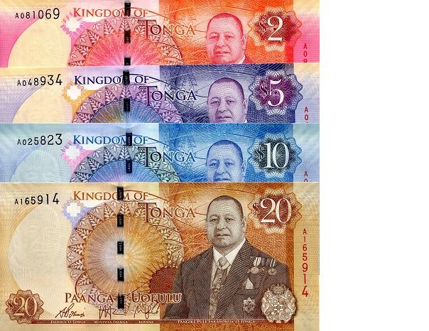 Image result for Tongan Pa'anga banknotes