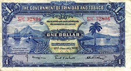 1 Dollar  VF/F (see scan) Banknote