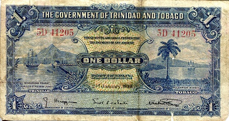 1 Dollar  VG/G (see scan) Banknote